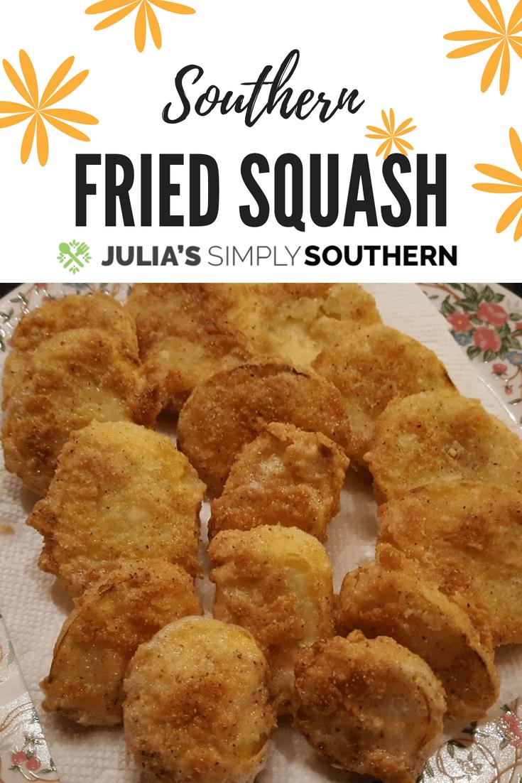Julia's Simply Southern Fried Squash Recipe