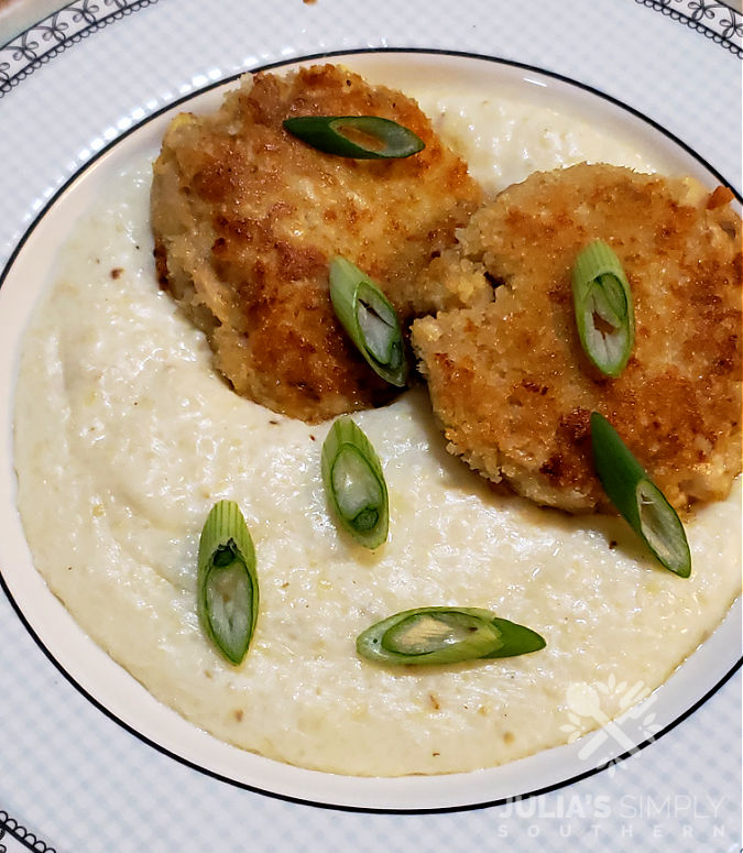 Best southern recipes - grits and salmon