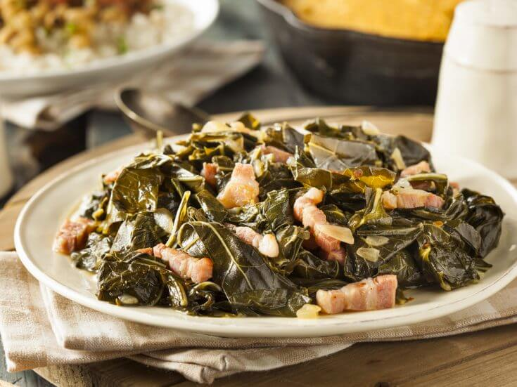 Southern Style Collard Greens Recipe, a new year's dinner tradition for good luck
