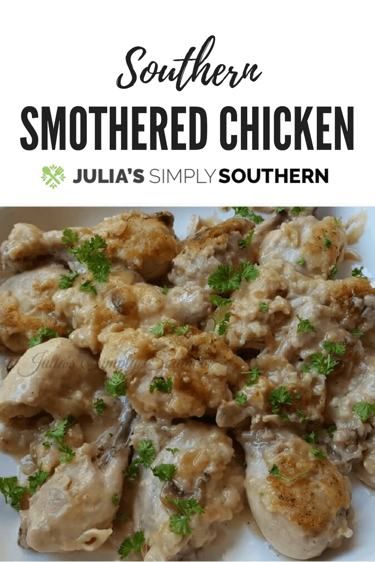 Southern Smothered Chicken
