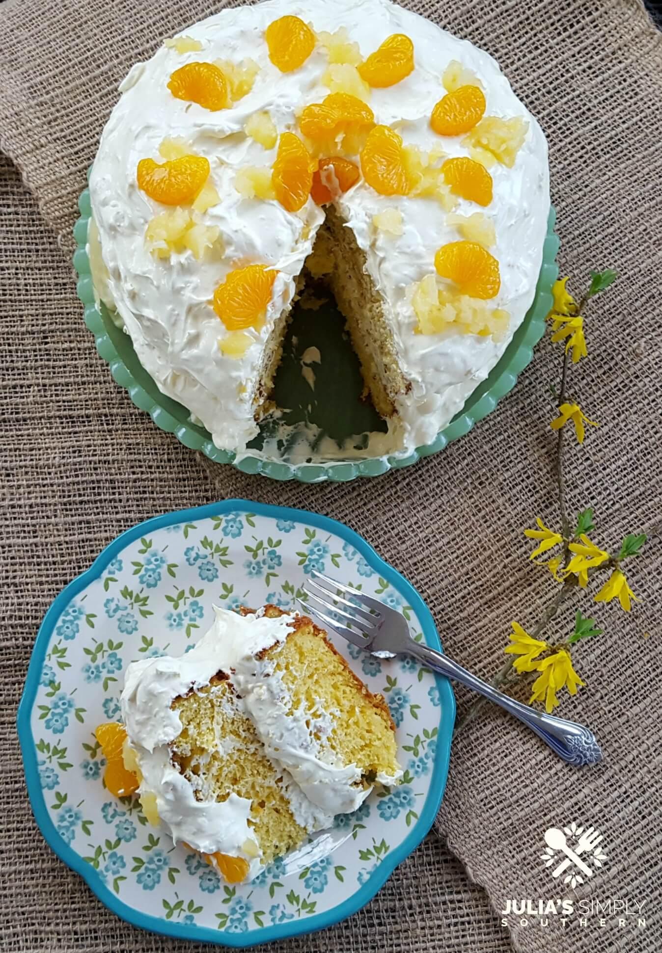 Pea Pickin' Cake