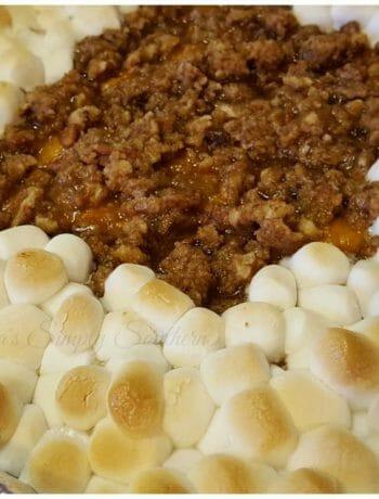 Southern Sweet Potato Casserole - Souffle