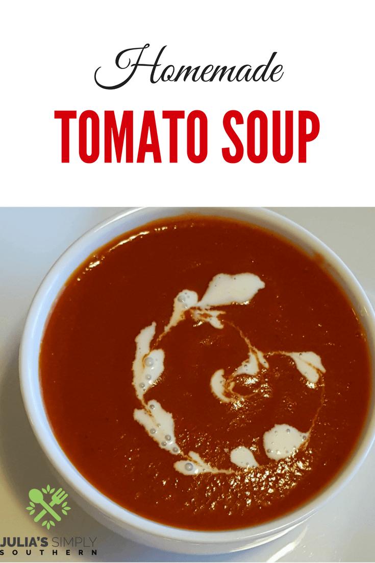 Homemade Tomato Soup #EasyRecipe #Delicious