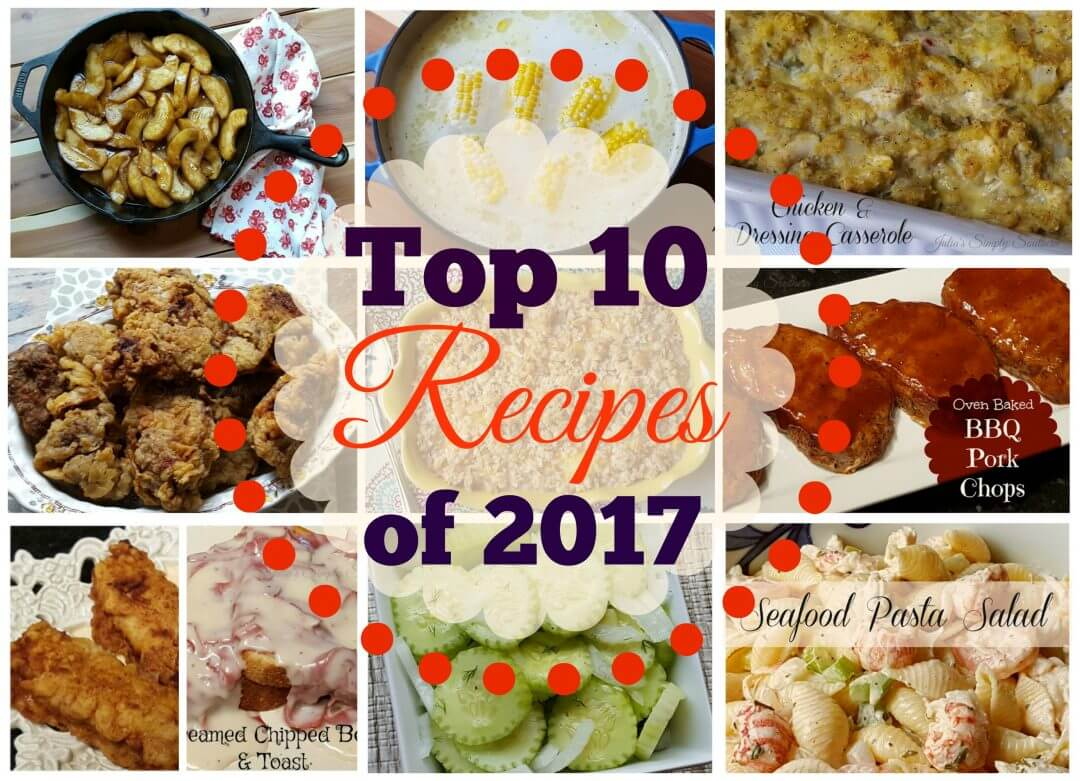 Top 10 Food Blogger Recipe Post of 2017
