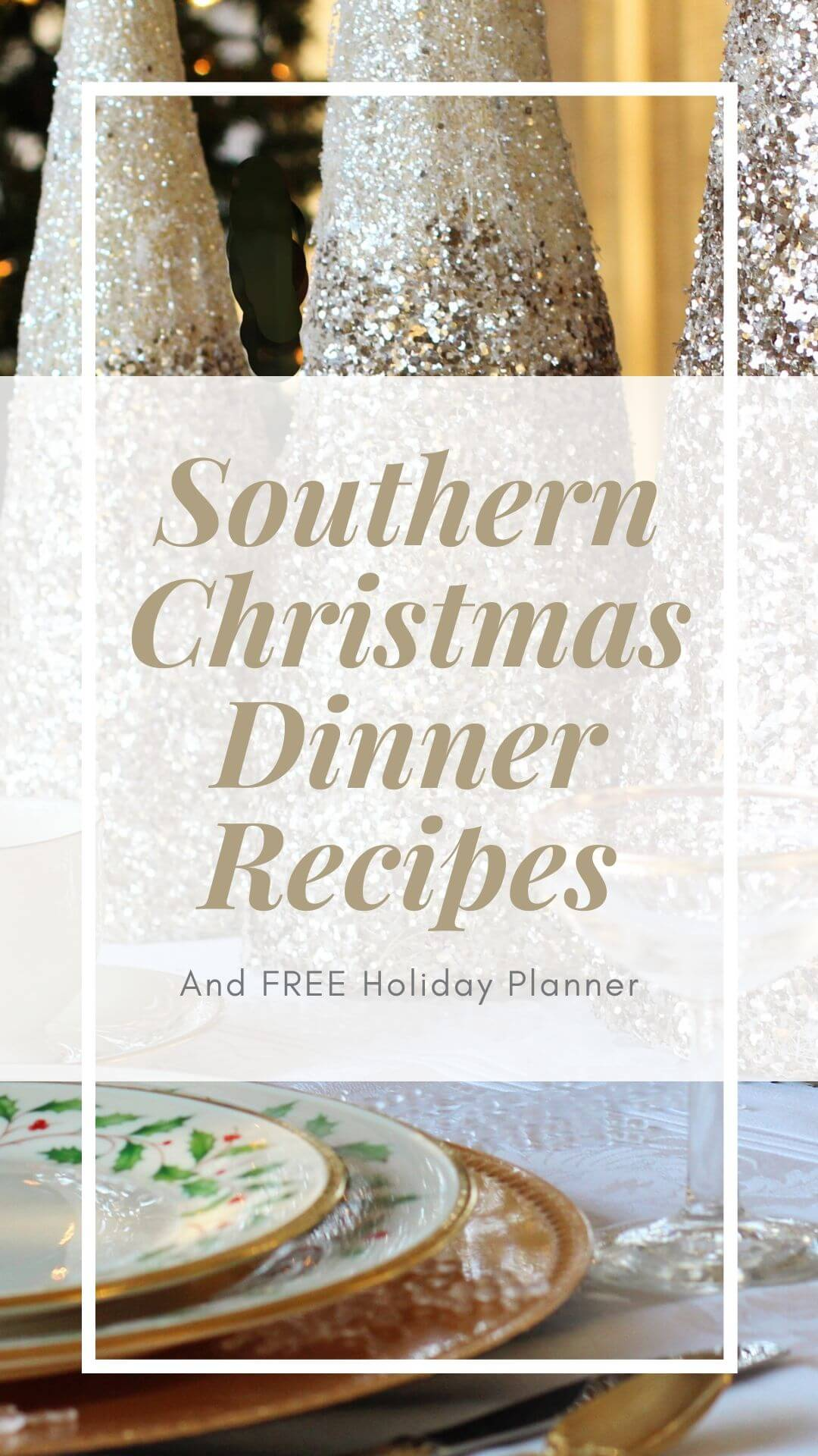 Post full of classic Southern Christmas recipes