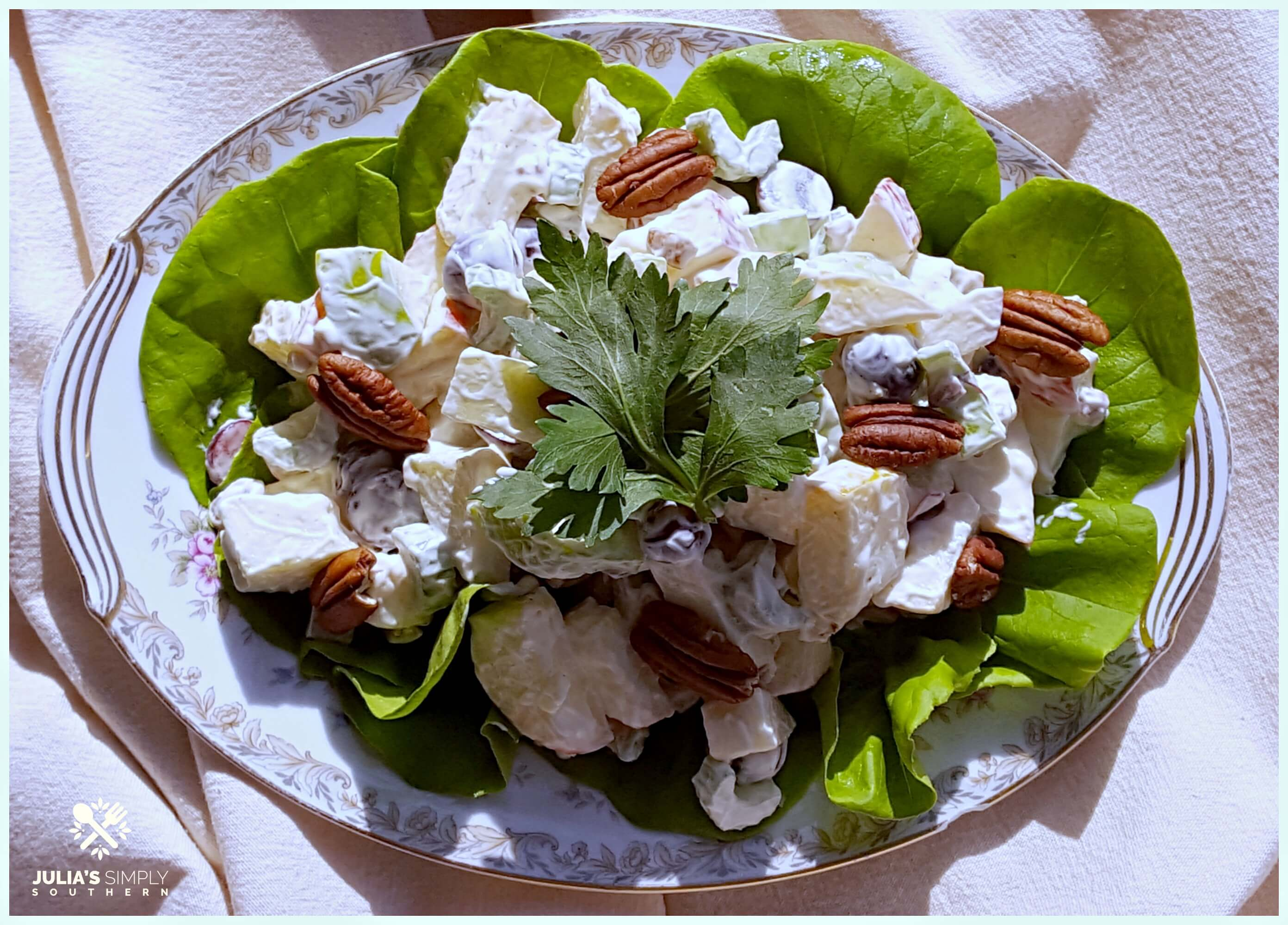 Old Fashioned Waldorf Salad