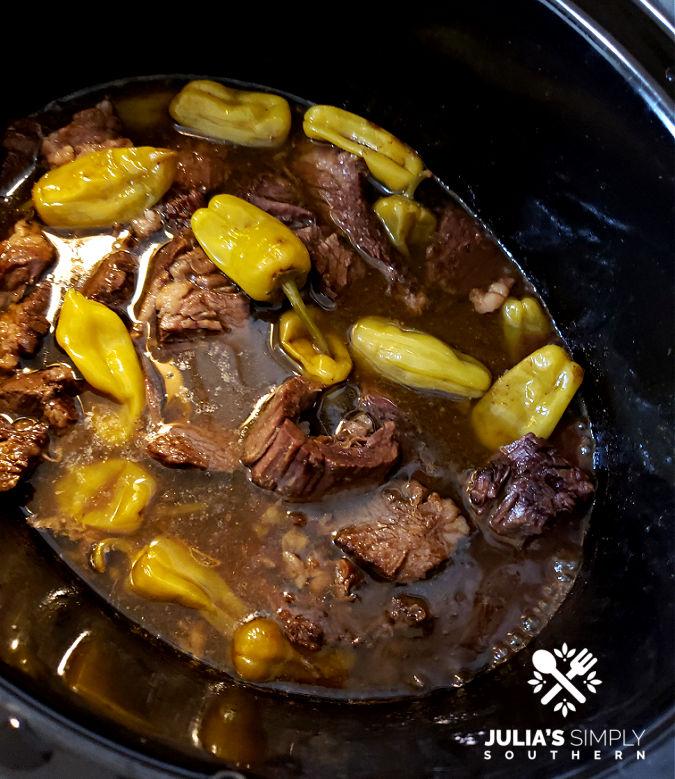 Easy slow cooker beef roast recipe