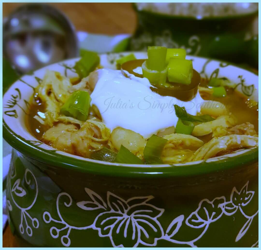 Southern White Chicken Chili Recipe