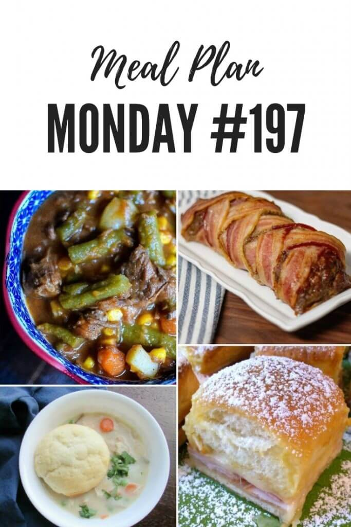 Pinterest - Meal Planning Recipes - Meal Plan Monday 197