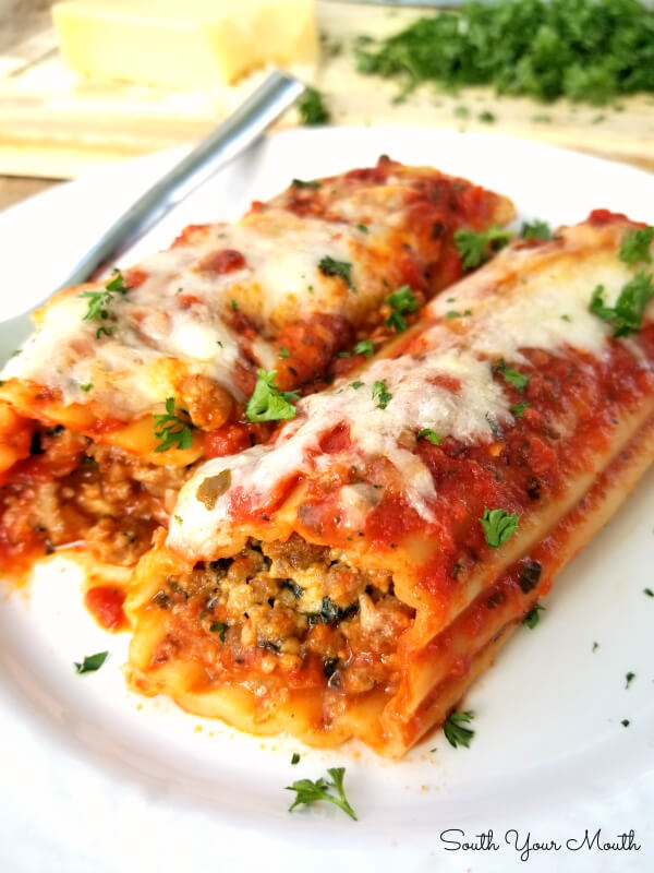 Sausage Manicotti Recipe