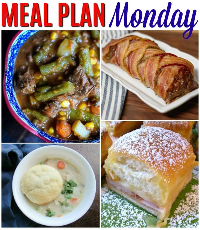 Meal Plan Monday 197 Cover Photo - post with free meal planning recipe ideas