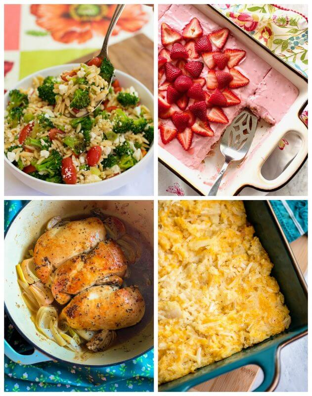 Meal Plan Monday 216 Collage of featured recipes