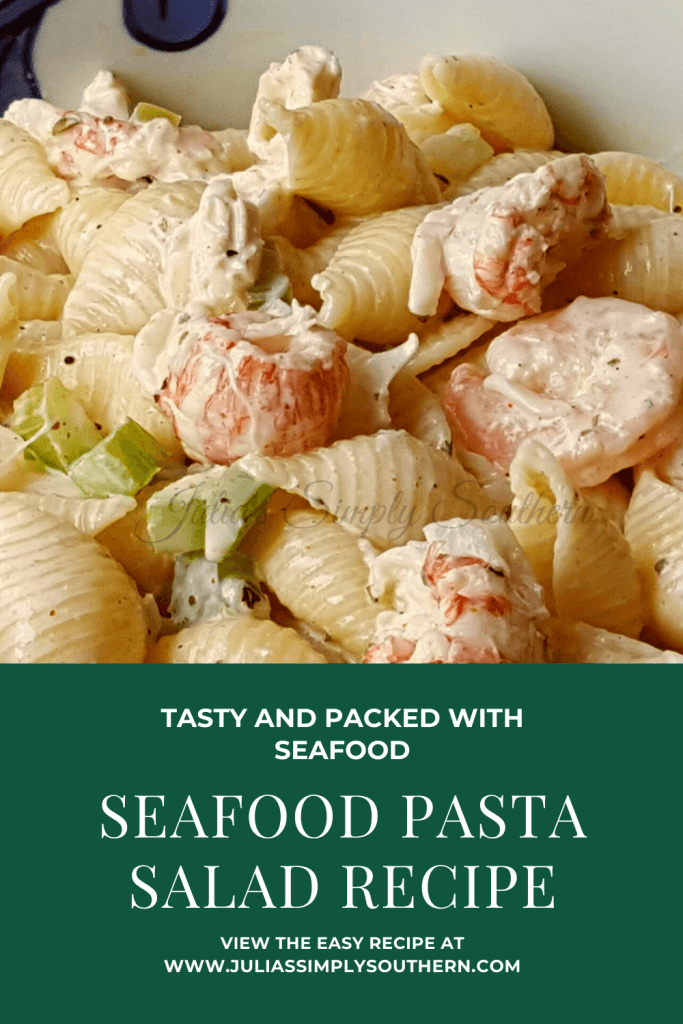 Amazing Seafood Pasta Salad Recipe - Pinterest