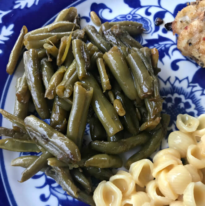 Quick and Easy Southern Green Beans